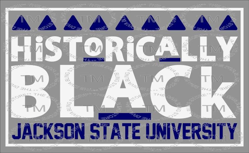 098a6700 Historically Black Jackson State SVG | Etsy