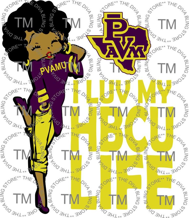 a81793ac HBCU Life PVAMU SVG file | Etsy
