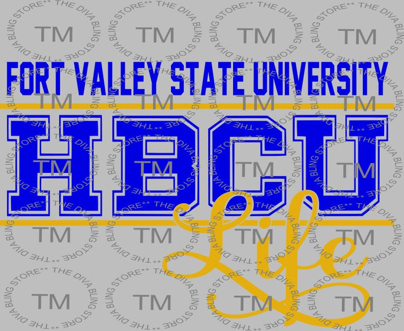 633aadf8 Fort Valley State HBCU Life SVG file | Etsy