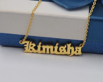 57a1f36767c58 Old english necklace   Etsy UK