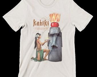 Kahiki Tiki Bar Mystery Girl Columbus Oh Tribute Men's Shirt #2