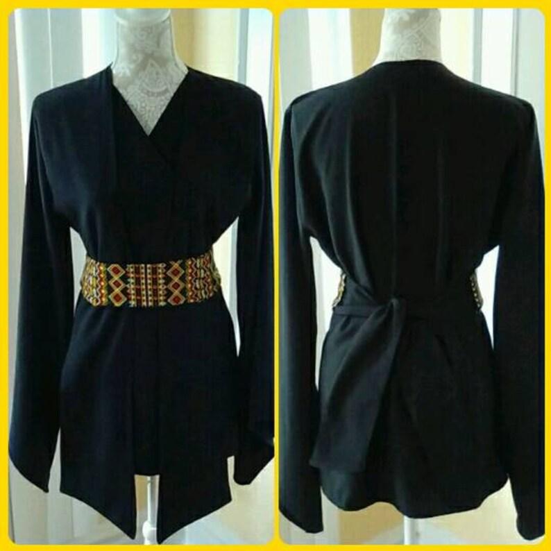 AFRICA/'S BEAT TABARD Tunic Knight Tunic wAttached Tabard Bohemian Female Festival Fashion