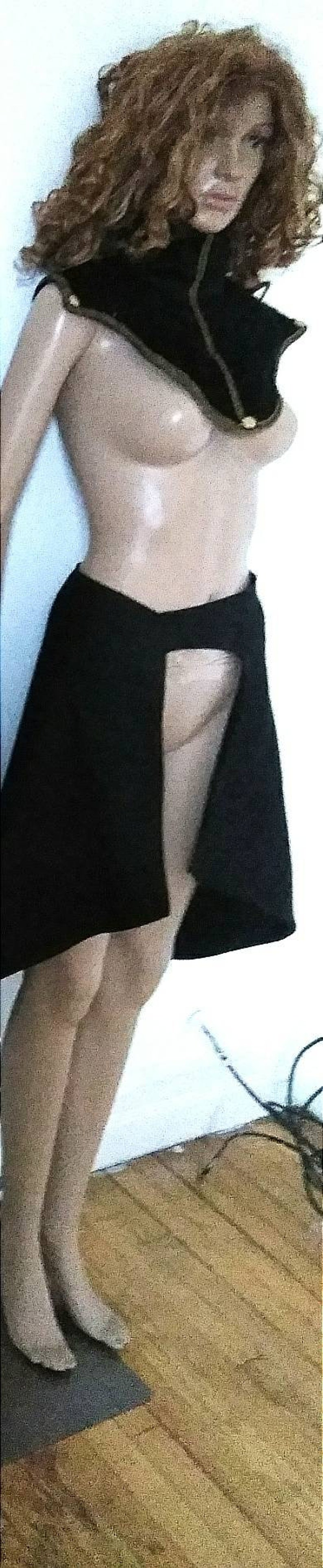 Style 4 High Collar-Shoulder Accessory SHURI  STYLE NECKPIECE