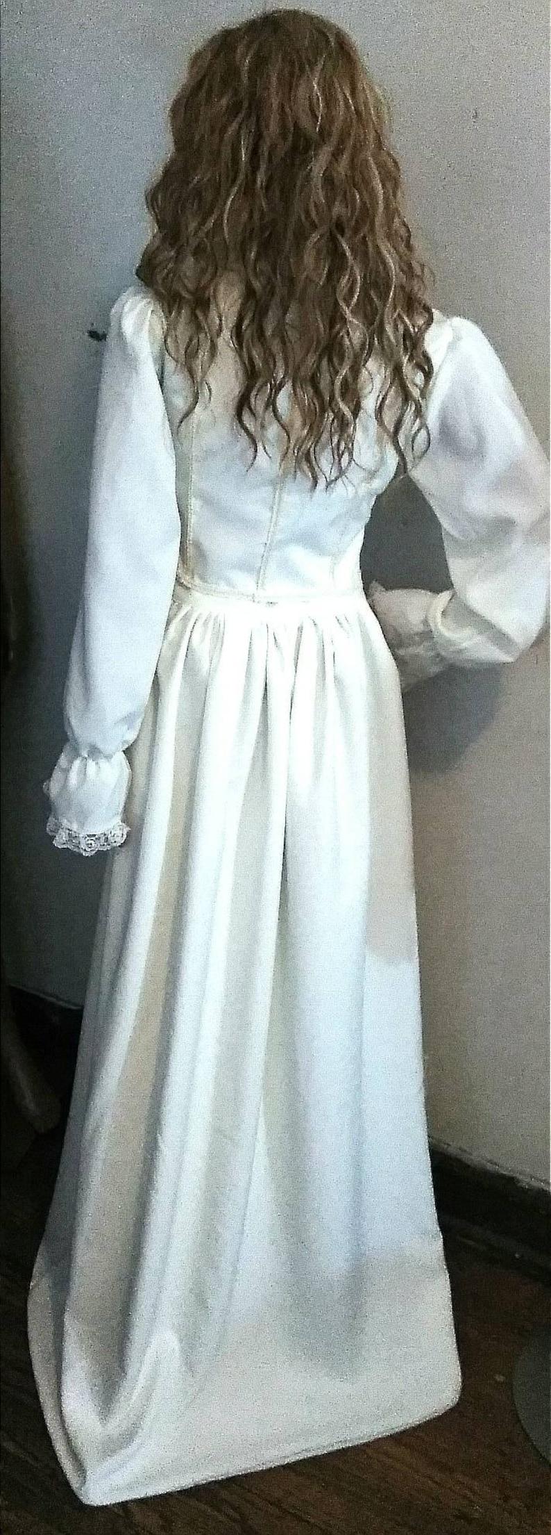 Dramatic and Flowing Cosplaying Elizabeth Swann PIRATE WEDDING Ensemble COSTUMEREADY