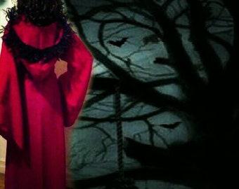 ROGUE RED RIDINGHOOD - Hooded Wrap - 3pc Ensemble