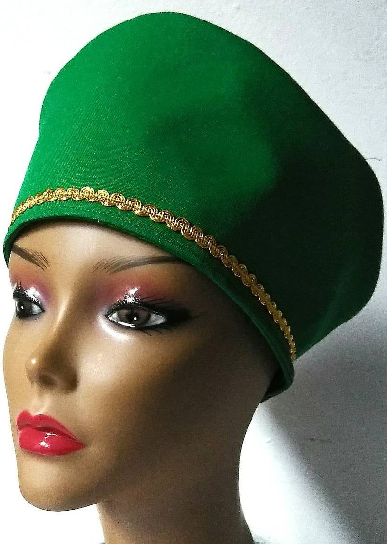 KUFI Crown Hat Gold Trim MySisters-MyQueen COLLECTION /'PRINCESS/'