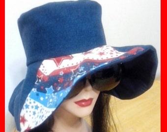 Americana Bohemian Floppy Hat