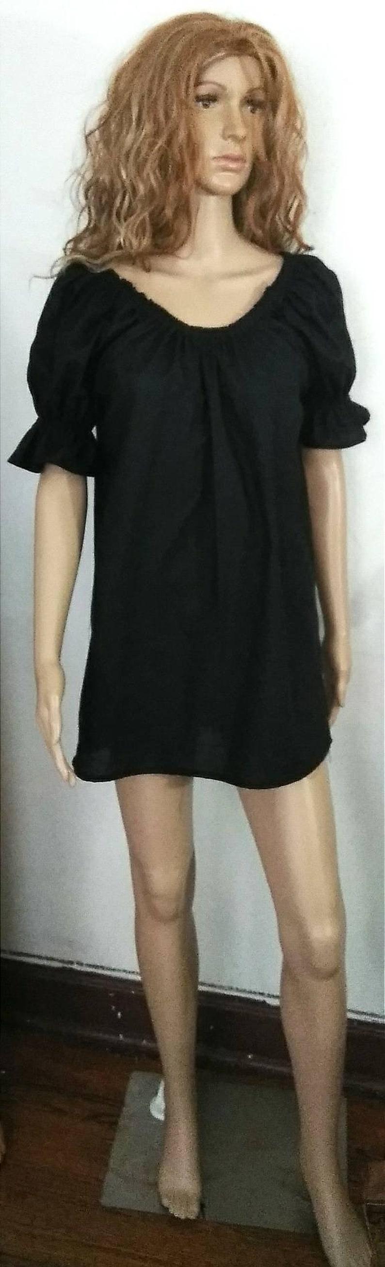Short Sleeve Wench shirt PEASANT SHIRT Colors