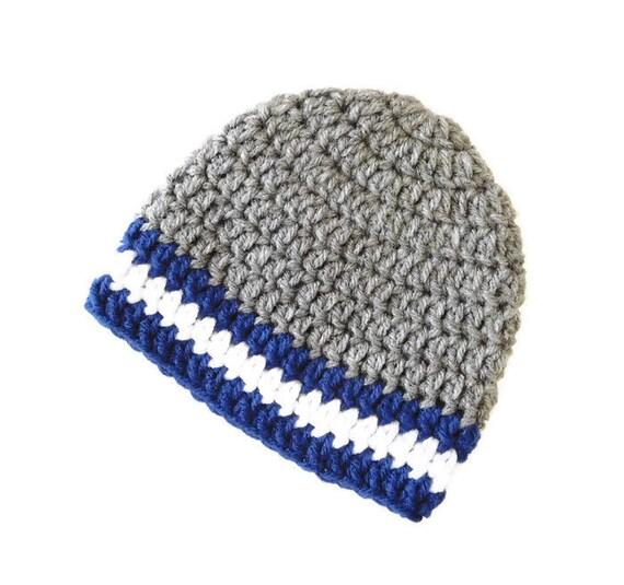 Gehäkelte Mütze Für Baby Jungen Häkeln Baby Boy Hut Winter Etsy