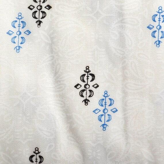 XS Deadstock 1950s Mens Pajamas Set Sanforized Co… - image 6