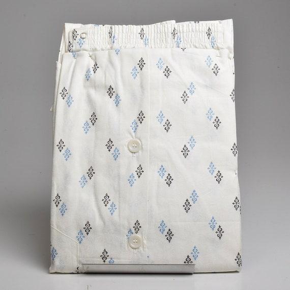 XS Deadstock 1950s Mens Pajamas Set Sanforized Co… - image 2