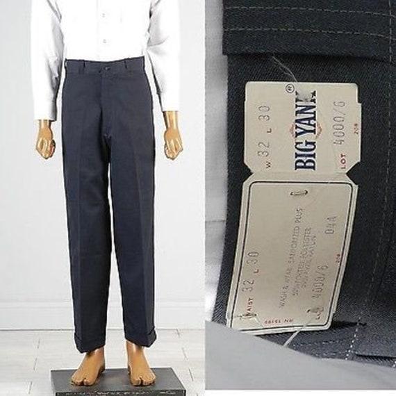 Deadstock Pants 60s Mens Pants 60s Pants Workwear