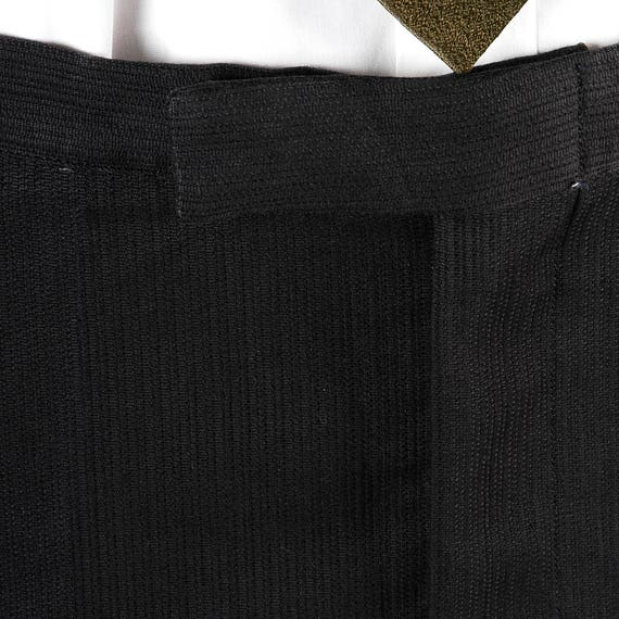 Pants x Black Pointer Textured 60s Cotton NOS Deadstock Stripe Sanforized Slim Mens Vintage 34 31 Trousers Tapered SqXfUwXZ
