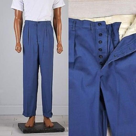 35x30 1940s Hercules Deadstock Pants Workwear Pant