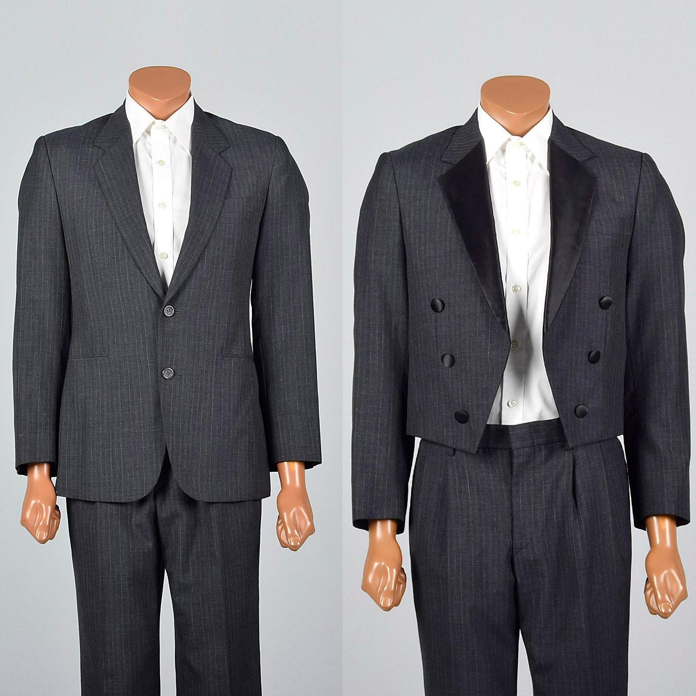 9ca3b9d1892c75 37R 32 x 31 des années 1960 pour pour 1960 homme que trois pièces costume  Smoking
