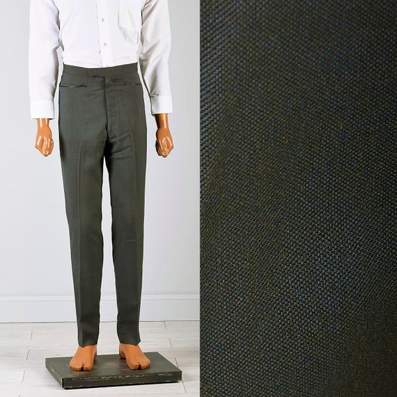 30x29 Deadstock Pants Mens Pants 60s Pants Mod Sha