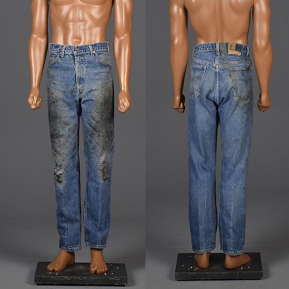 70s Vintage Levis Mens Levis Levis Workwear Distre