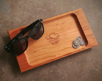 Personalized Valet Tray with Monogram