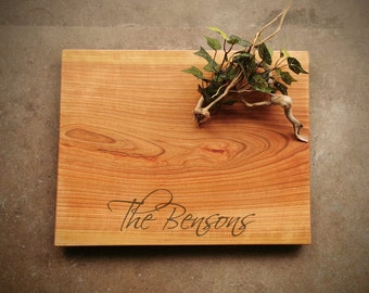 18X14 Inch Cherry Cutting Board