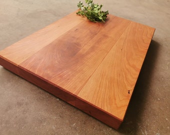 Thick Cherry Cutting Board