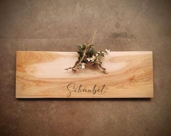 Personalized Cutting Board - Extra Long Maple Cutting Board - #ZJH0721