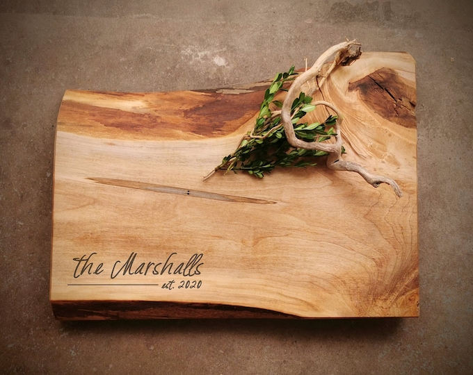 Featured listing image: *One of A Kind* Maple Cutting Board