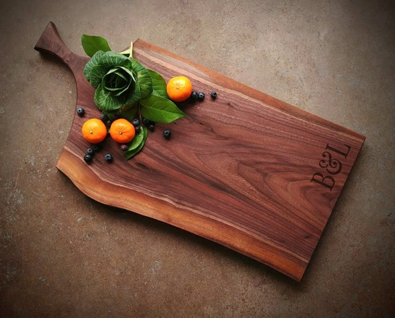 Personalized Handled Cheese Board