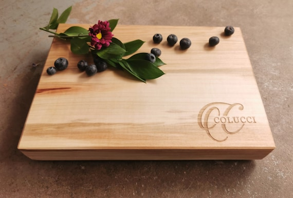 Personalized Cheese Board - Housewarming Gift - 12x8x1.5 inches