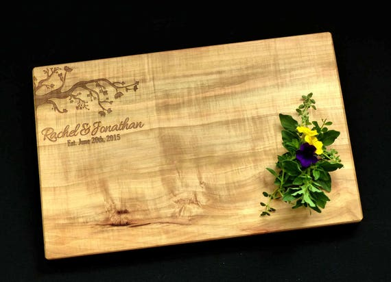Tree Branch Design Cutting Board