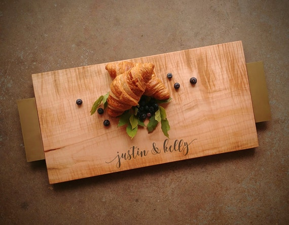One of A Kind Curly Maple Serving Tray
