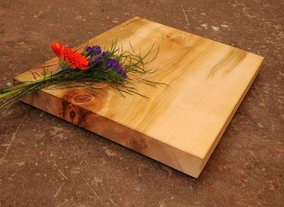 Personalized Cutting Board Thick Maple w/Feet - Personalized Cheese Board - Personalized Family Gift - Gift for Family - Gift for Couples