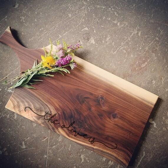 Walnut Cutting Board with Handle