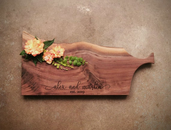Personalized Handled Cutting Board