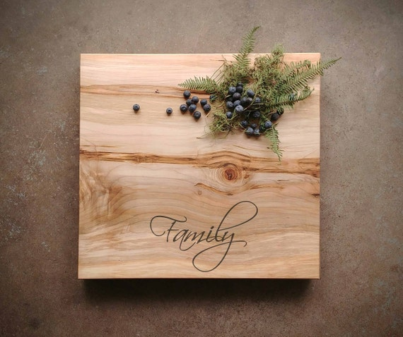 Thick Maple Cutting Board