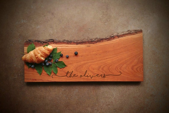 Live Edge *One of A Kind* Cherry Cutting Board