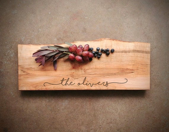 Personalized Charcuterie Board