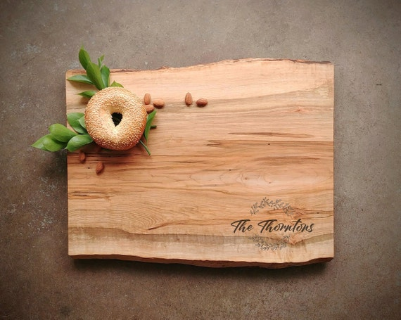 Live Edge Cutting Board