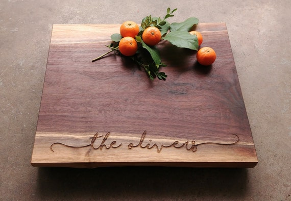 Personalized Cheese Board