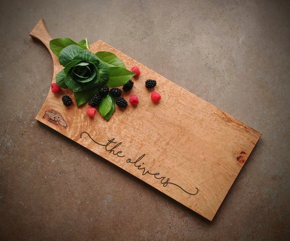 *One of A Kind* Curly Maple Cutting Board