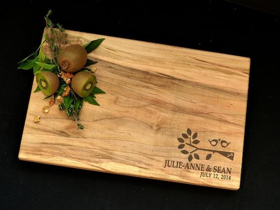 Personalized Cutting Board Spalted Maple Cutting Board Serving Tray Custom Cutting Board Charcuterie Wedding Cutting Board Chopping Block