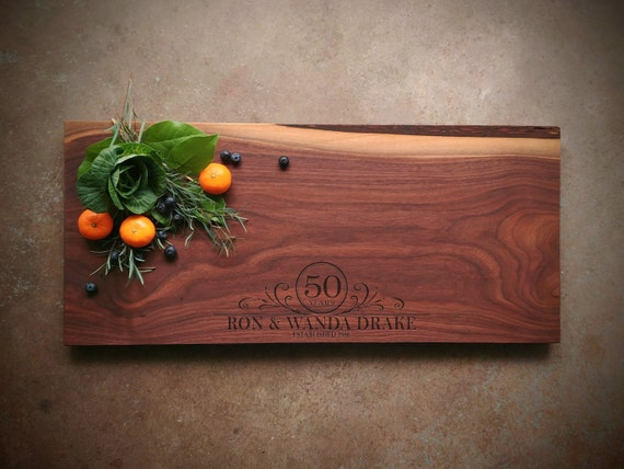 Wedding Anniversary Cutting Board