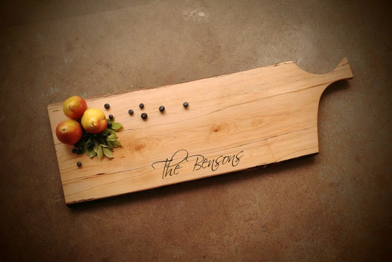 Maple Personalized Cutting Board *One of A Kind*
