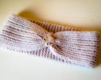 Beige wool band