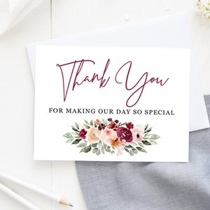 Wedding Music Band Vendor Thank You Card CS08 Wedding Card to Your DJ Musician Thank You for Keeping the Dance Floor Hot