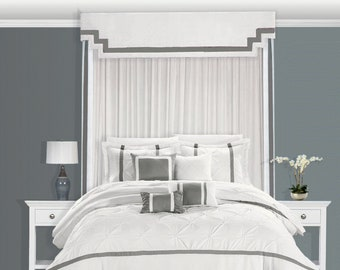 Bed Cornice Bed Canopy Bed Crown Bed Teester Bed Drapery Bed Curtains  Bedding Drapery By Designer Homes