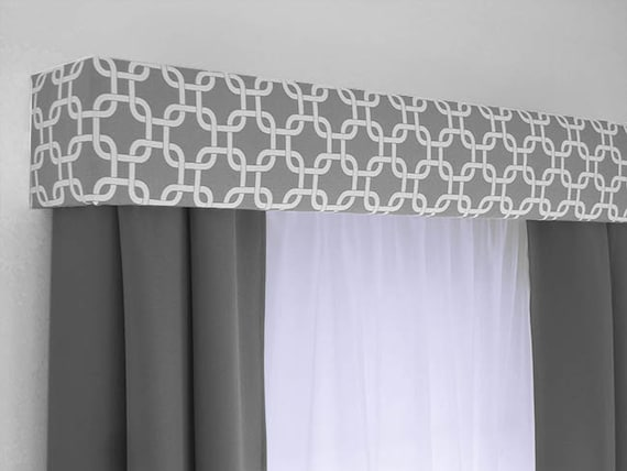 Custom Cornice Board Valance Box Window Treatment Custom Etsy