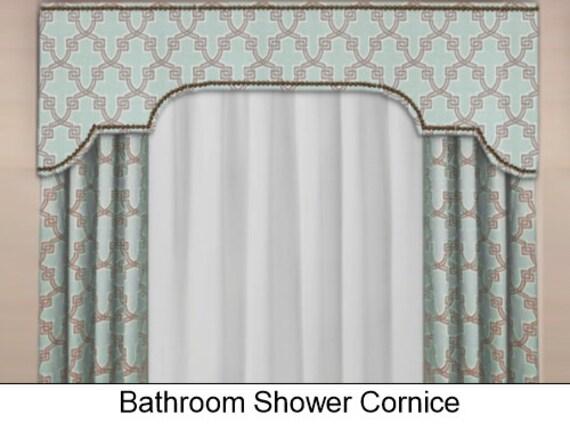 Custom Bathroom Shower Cornice Board Pelmet Box With Etsy