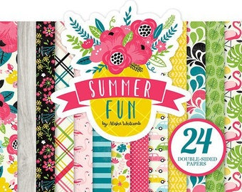 Echo Park - Summer Fun Collection - 6 x 6 Paper Pad