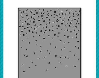 Lawn Fawn - Lawn Cuts - Dies - Snowfall Backdrop - Portrait