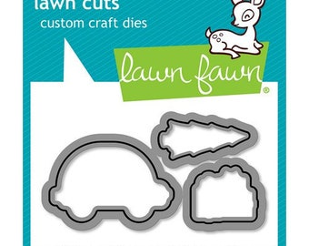 Lawn Fawn - Lawn Cuts - Dies - Home for the Holidays